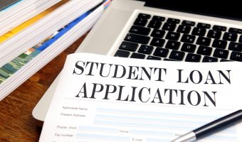 blank student loan application