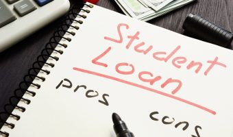 Student loan application pros and cons
